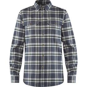Fjällräven Övik Heavy Flannel Shirt Herren dusk